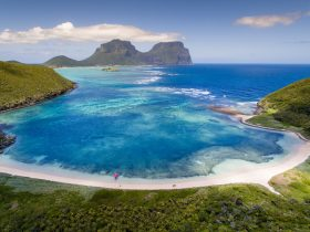Photo opportunities on Lord Howe Island, put yourself in this picture
