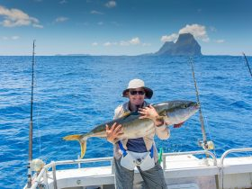 Fishing off Lord Howe Island