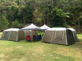 Sydney camping ku-ring-gai