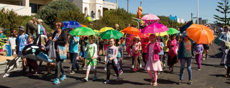 Primary School in parade 2017