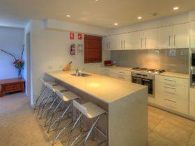 kitchen view Elevation Apartments Thredbo