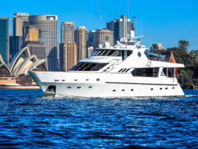 Luxury boat Sydney Harbour