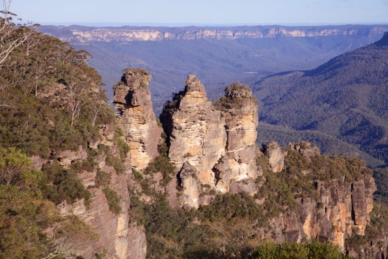 three sisters echo point