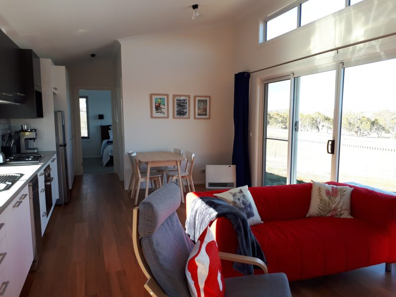 Sit back, relax and enjoy the view at Eucumbene Lakeview Cottages