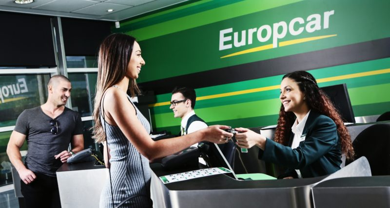 Europcar check in