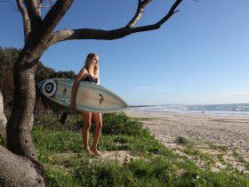 Surfer Evans Head