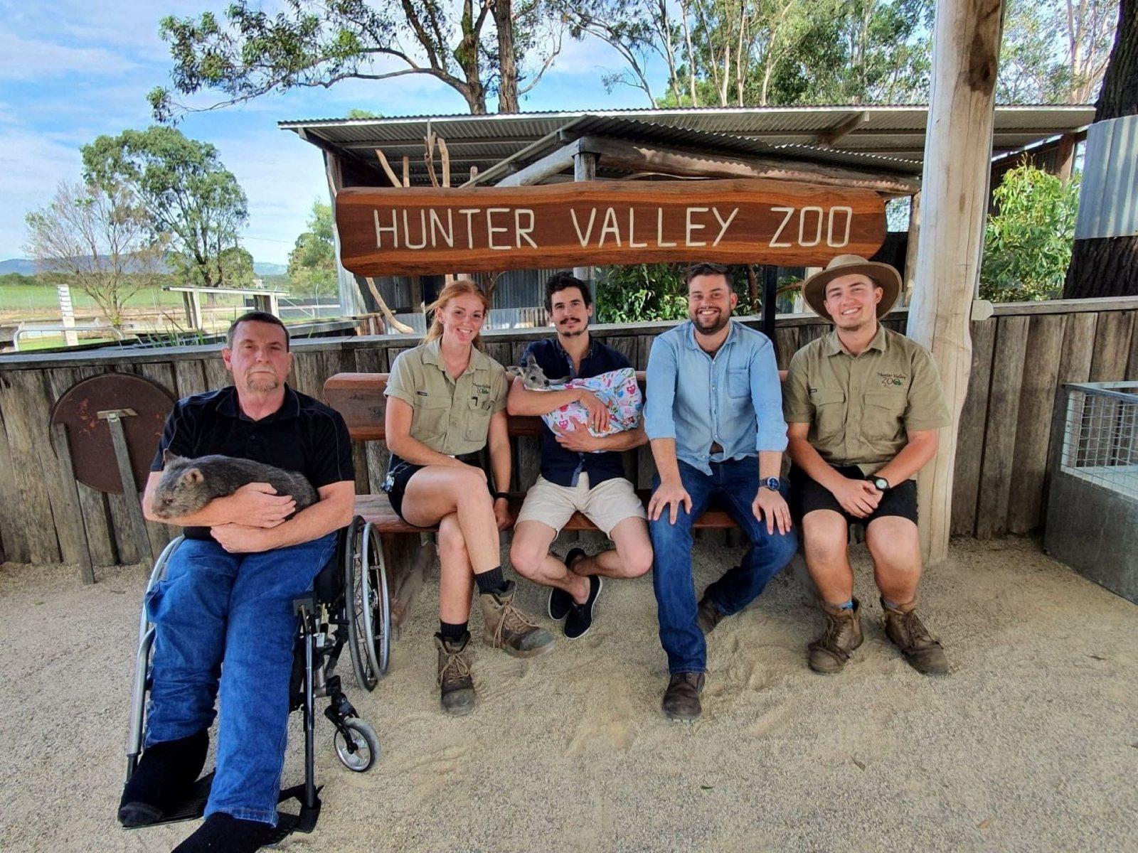 Kangaroo and wine experience