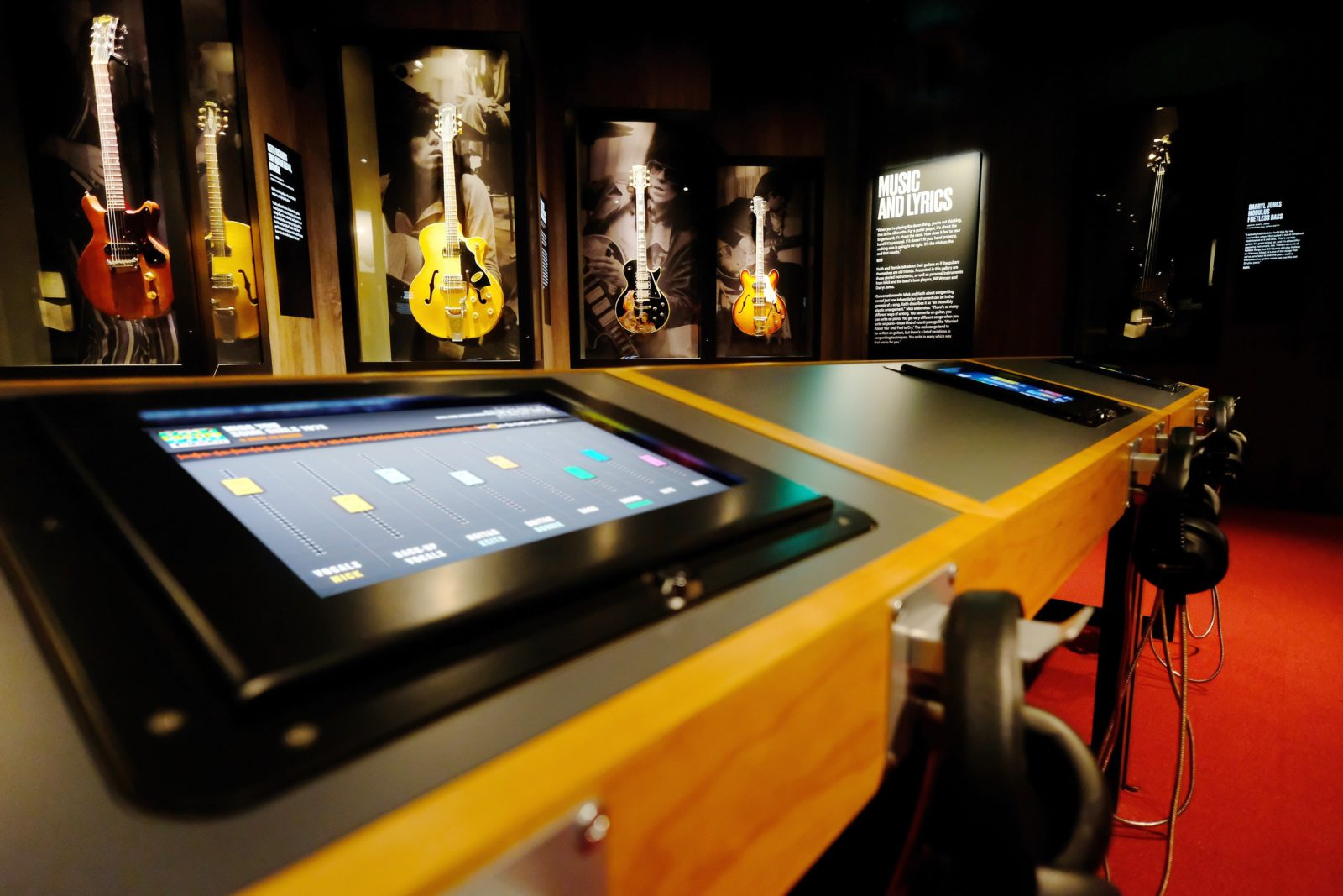 Exhibitionism is an interactive music experience