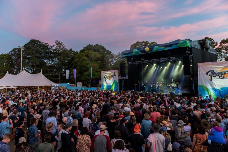 Fairgrounds Festival's Stunning Sunsets
