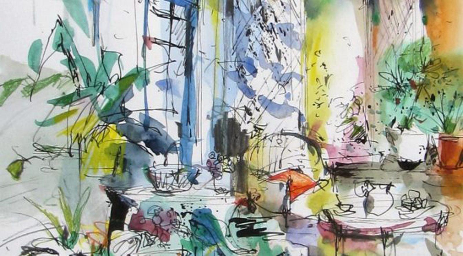 Fay Boyd's Art School Painting