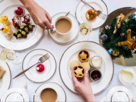 Festive High Tea - Shangri-La Hotel, Sydney
