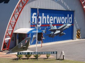 Fighter World Entrance