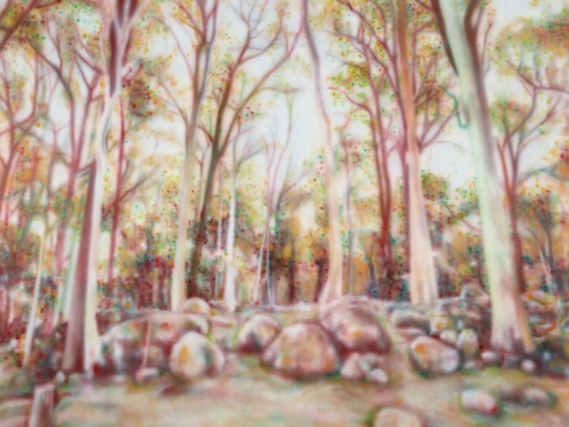 Acrylic on canvas, 155 x 211 cm