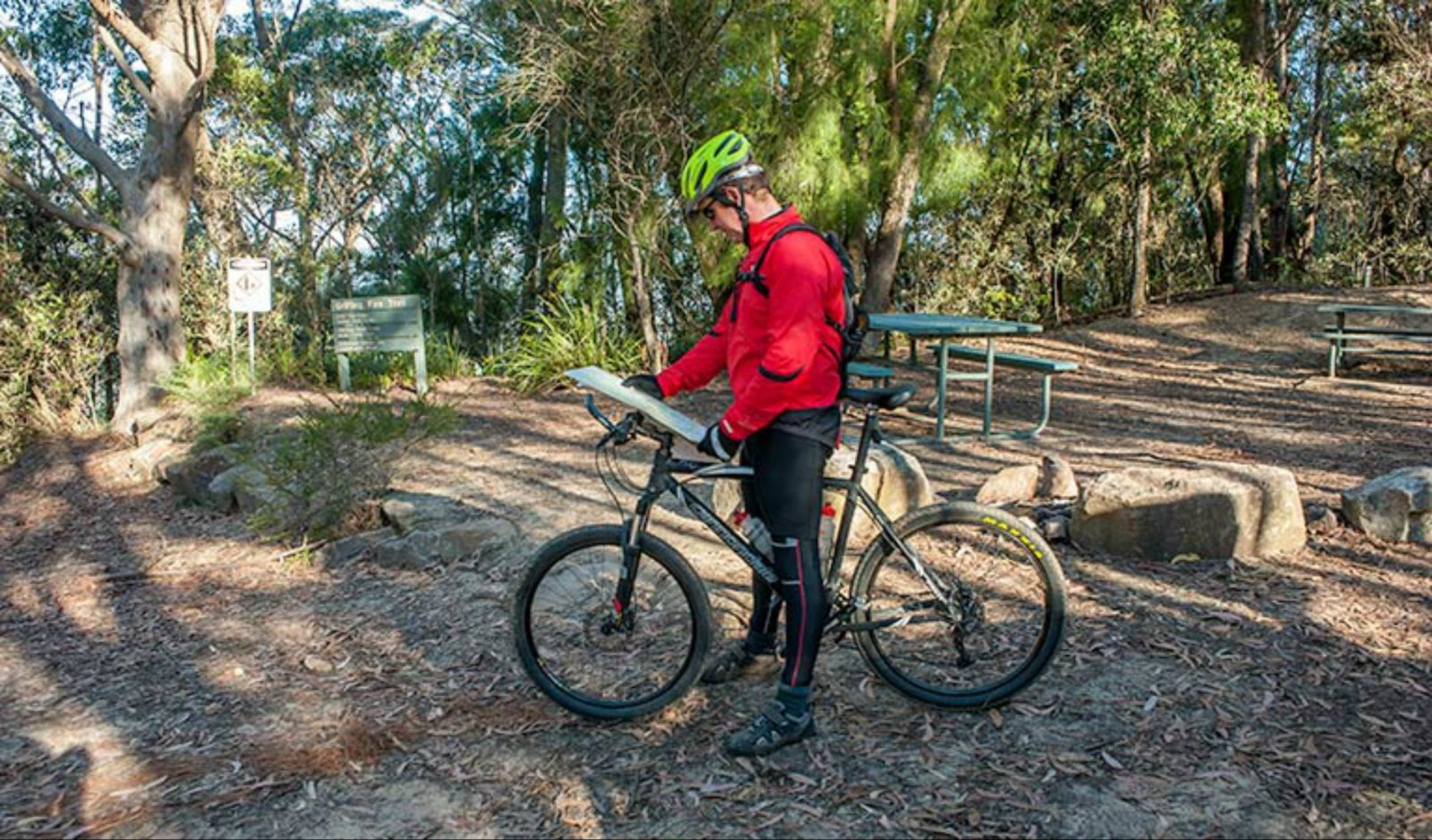 Fitzroy Falls to Kangaroo Valley cycling route