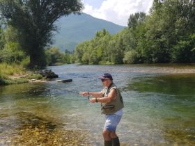 Treska River in Macedonia, Tanefrom Tumut Fly Fishing, Fly Fishing