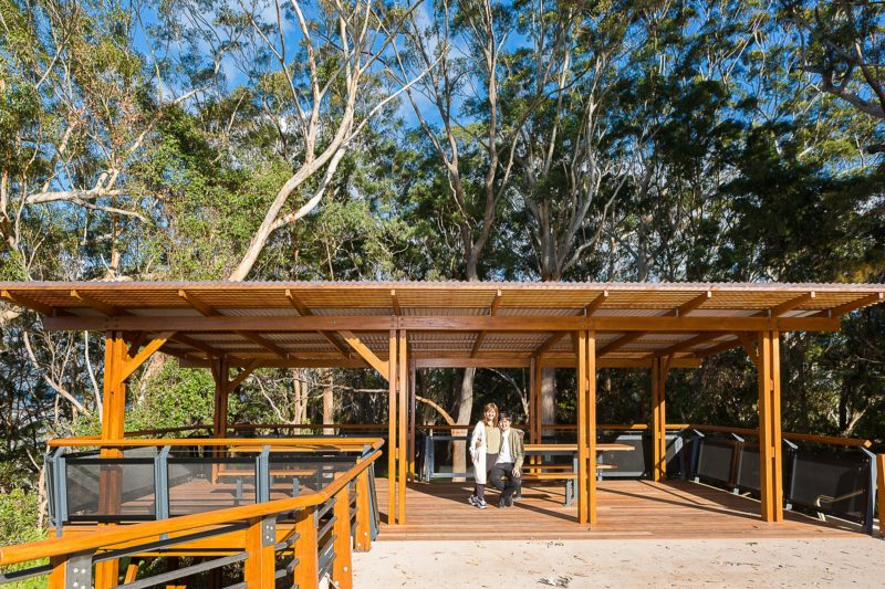 Picnic Shelter, Sealy Lookout, Orara East State Forest