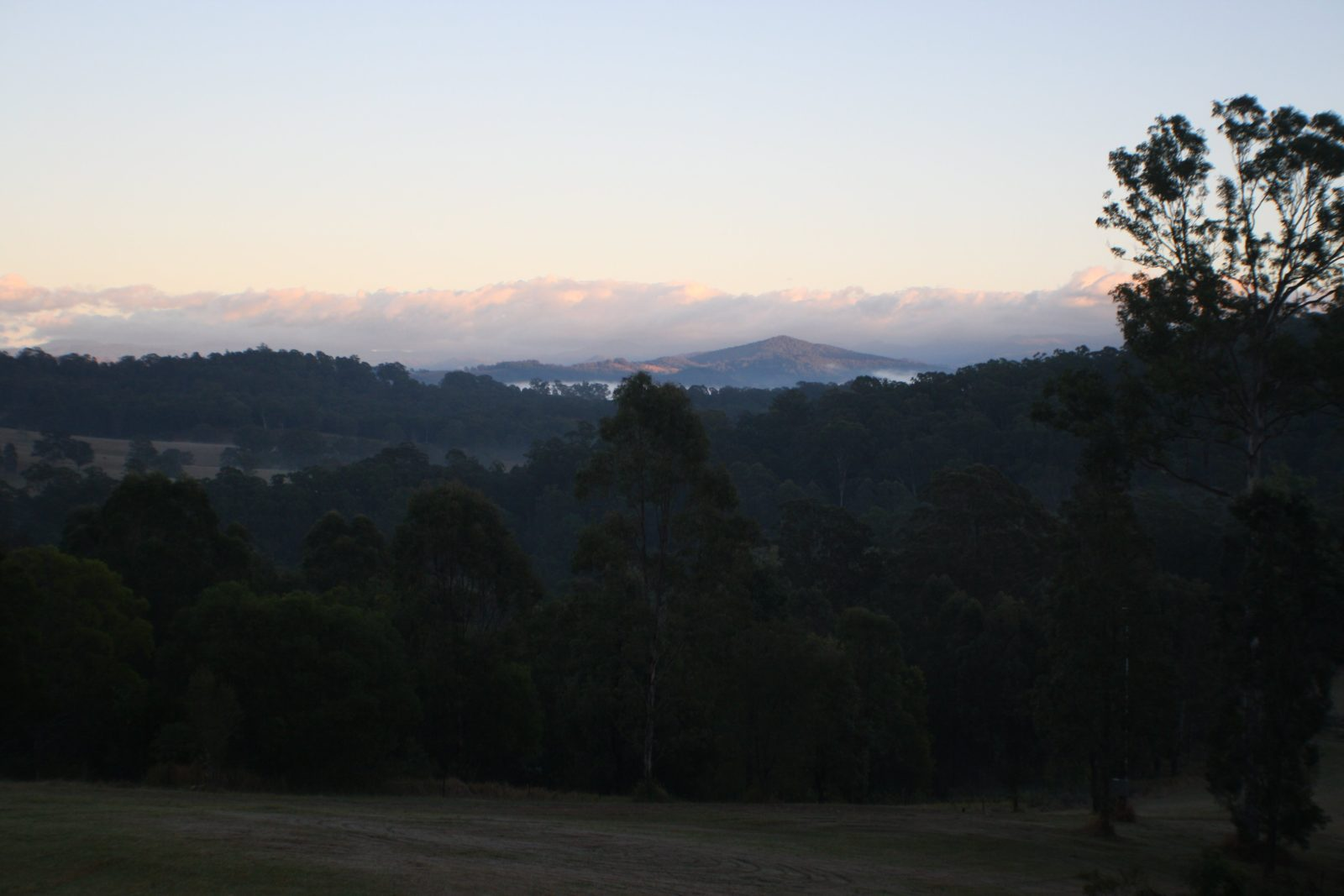 View of Barrington Tops