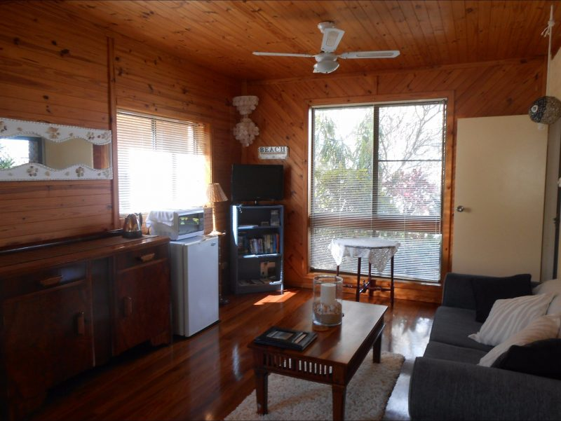 Your room comes complete with a kitchenette, TV/DVD combo and lounge