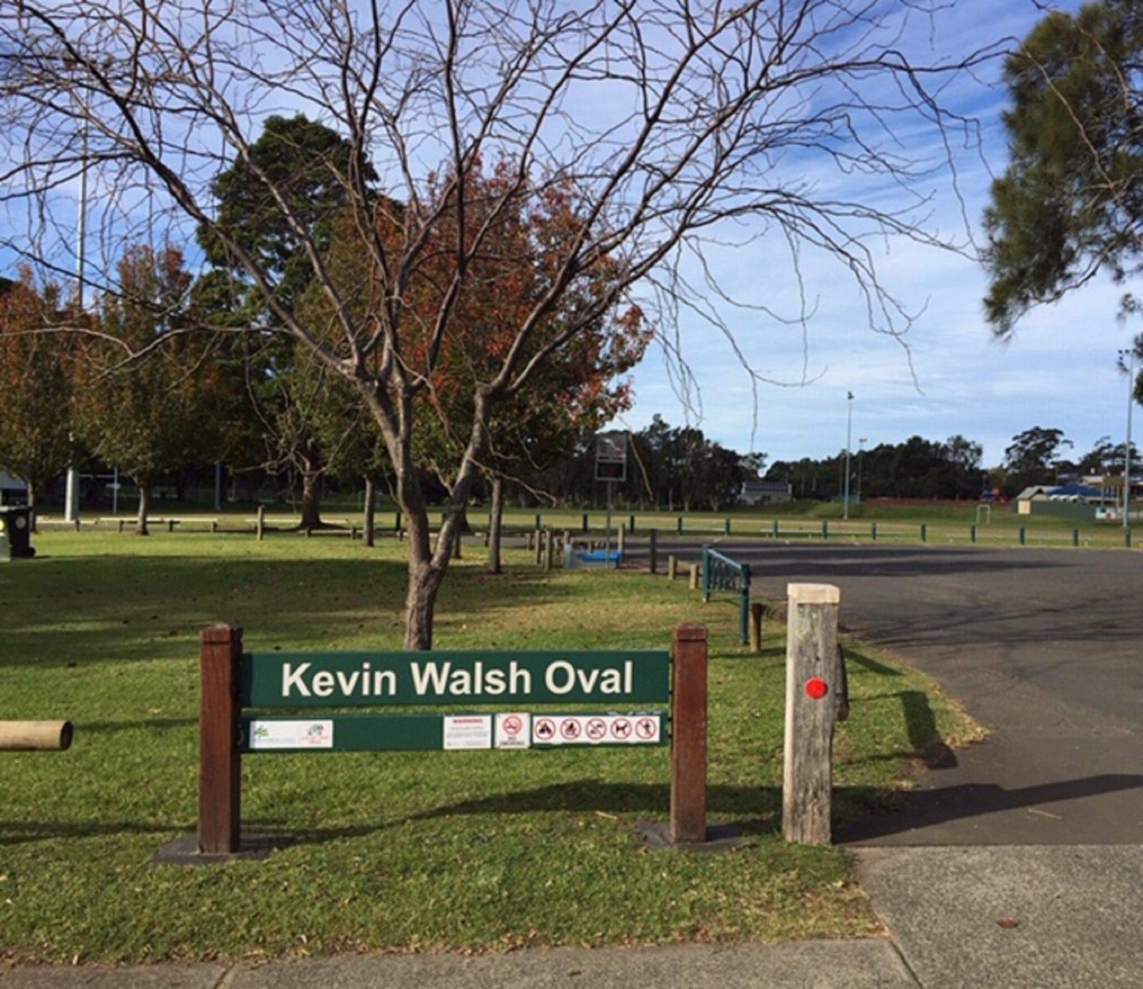 Free Camping at Kevin Walsh Ova