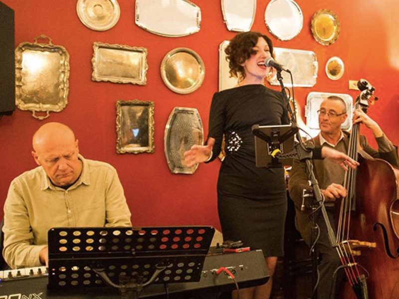 Friday Supper Club with the Kate Woolfe Trio