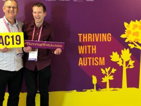 Daniel & Daryl at the Asia Pacific Autism Conference in Singapore - June 2019