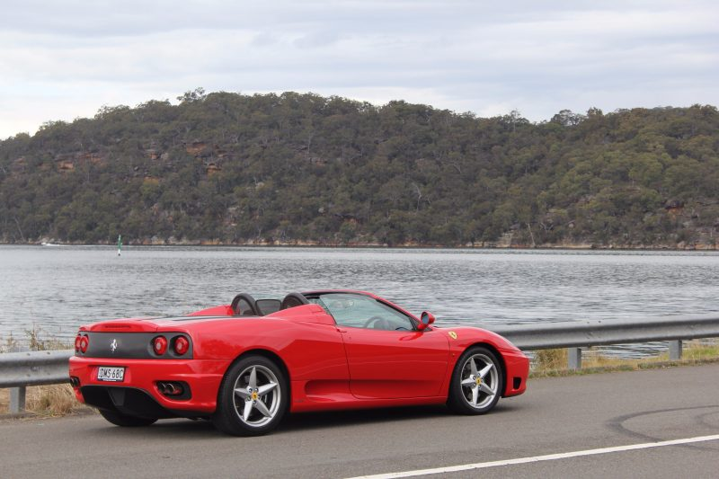 Ferrari 360 at Central Coast