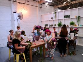 Fun flower workshop for beginners Sydney