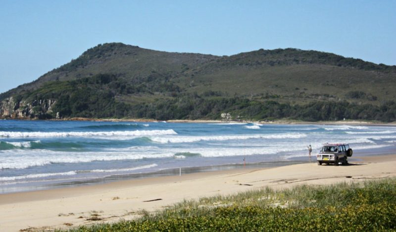 Geebung picnic area beach views, Crowdy Bay National Park. Photo: Andy Marshall/NSW Government