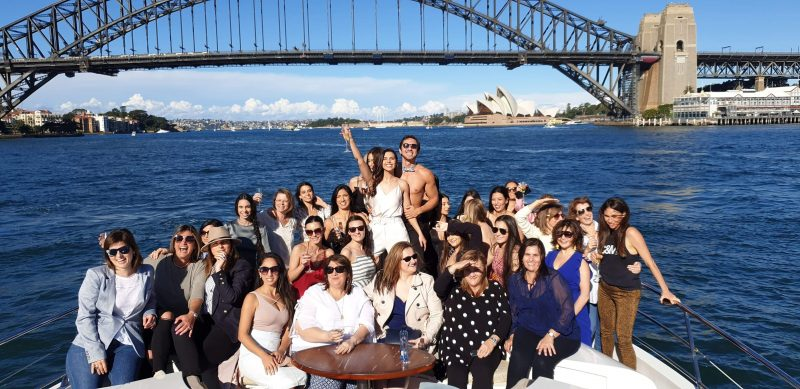 Sydney Harbour Hens Cruise