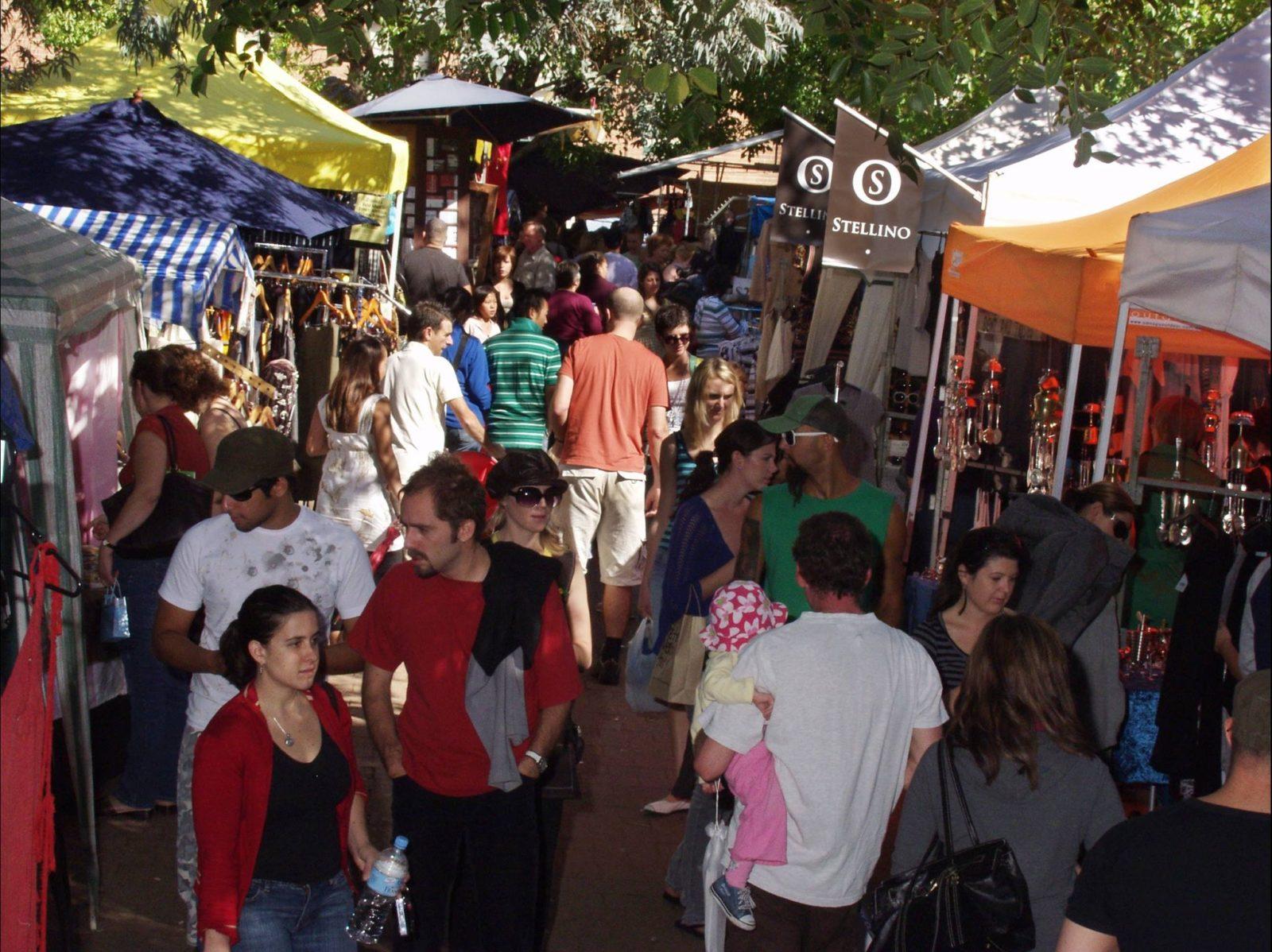 Glebe Markets every Saturday