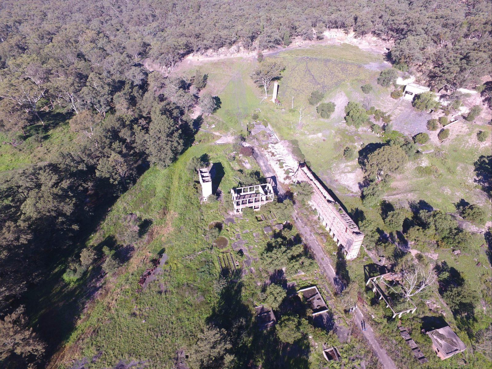 Ruins Aerial View