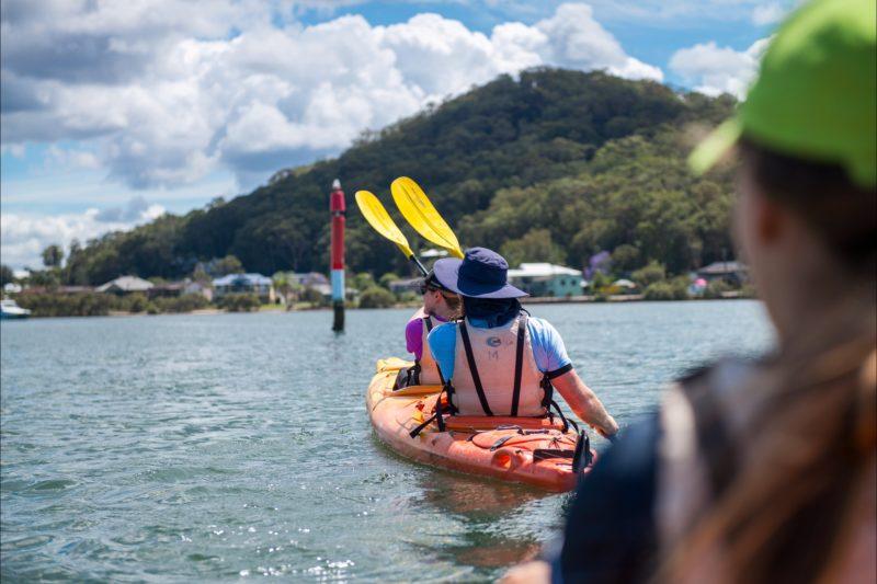Wine and Seafood Kayak Tour
