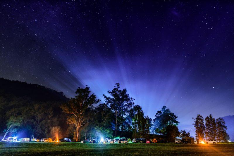 Camping at Glenworth Valley
