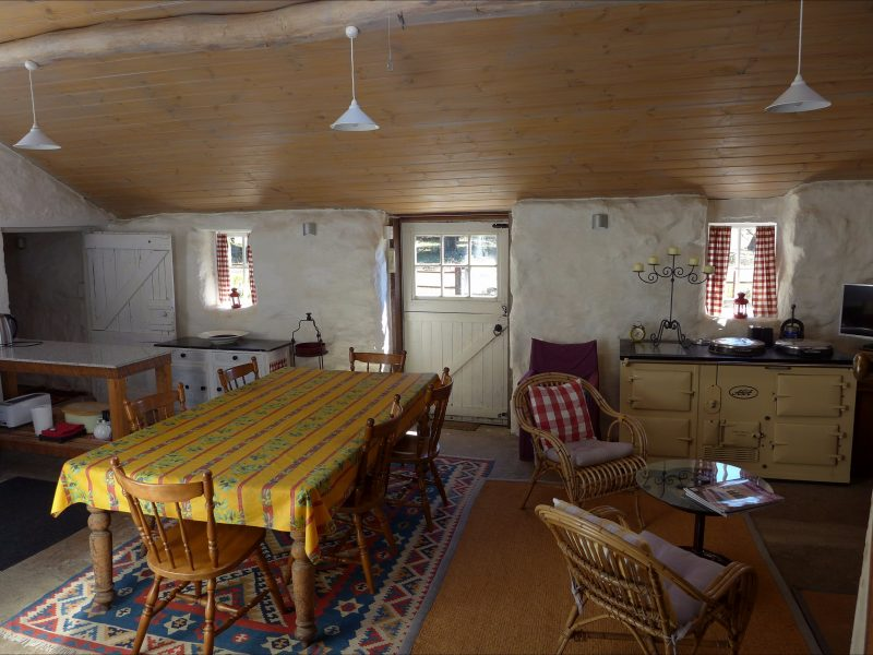 Stables kitchen living area