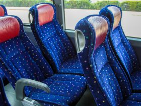 GOGO Bus Hire Bus Seats