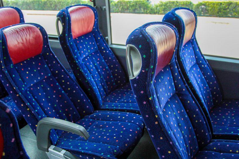 GOGO Bus Hire Bus Seats