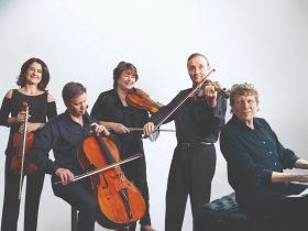 Goldner String Quartet and Piers Lane