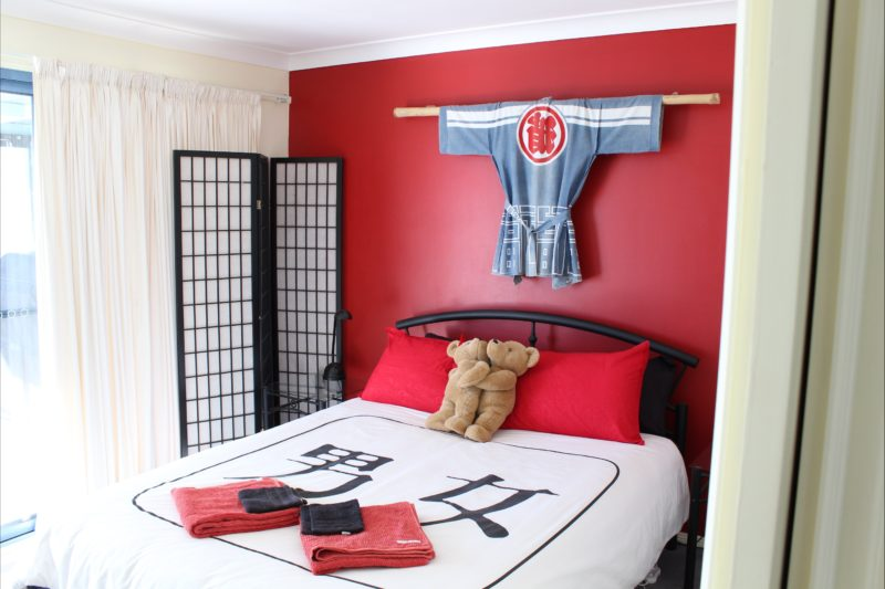 Asian themed bedrooms