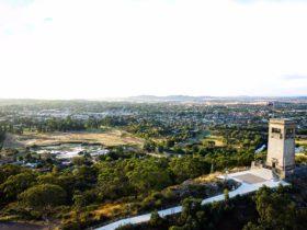 Goulburn - from Rocky Hill with War Memorial
