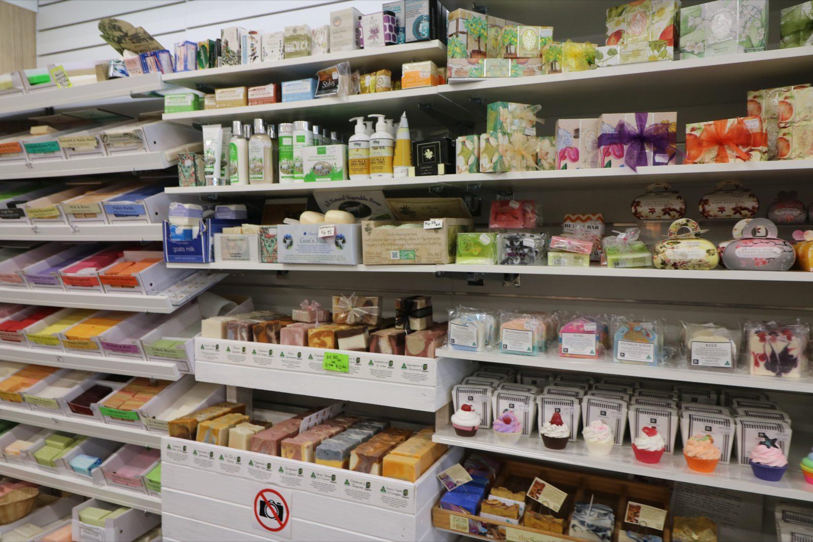Soap shelf