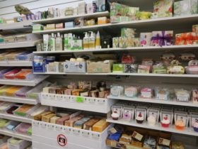 Soap shelf