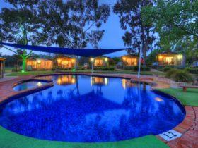 Poolside Villas around Pool