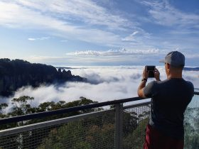 Great Blue Mountains Traverse - a 3-day guided Pack-Free Walk from Life's An Adventure