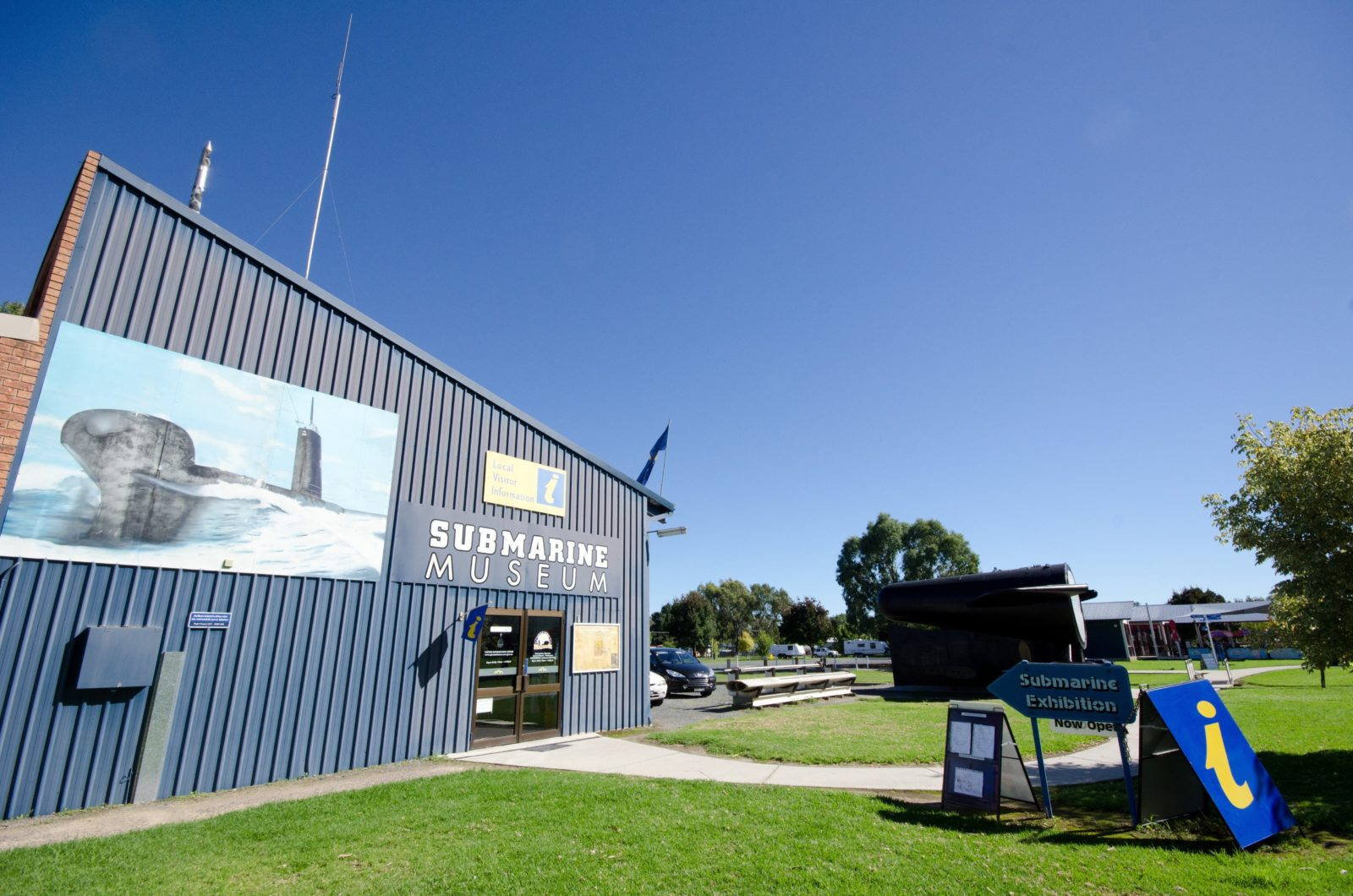 Holbrook Submarine Museum and Greater Hume Shire Visitor Information Centre