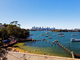 Views of Greenwich Bathes, Sydney