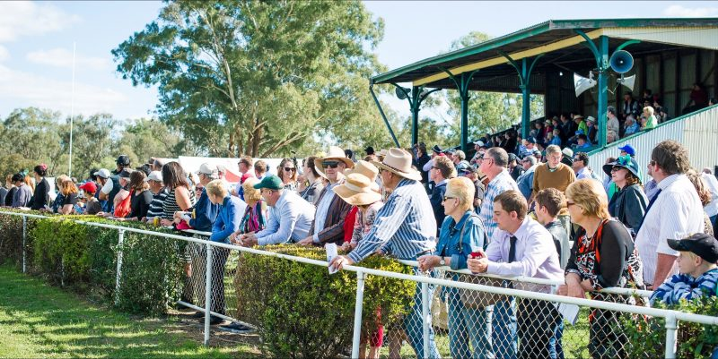 Grenfell Picnic Races Grand Stand