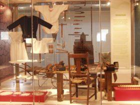 Italian museum display