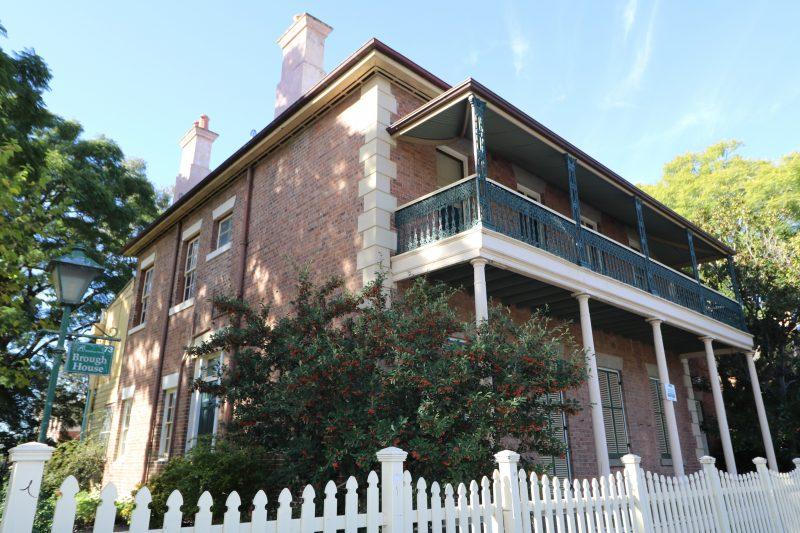 Brough House exterior
