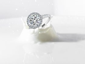 Halo Diamond Ring from GS