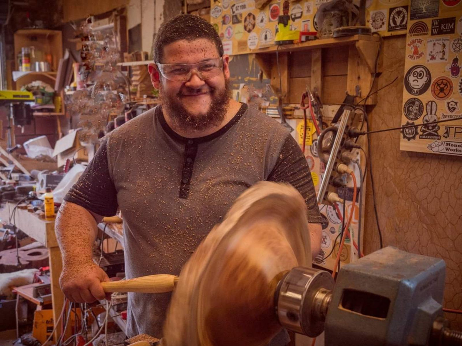 Guil the Bearded Woodworker